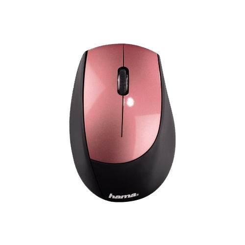 Мышь HAMA M2150 Wireless Optical Mouse Black-Dusky Pink USB