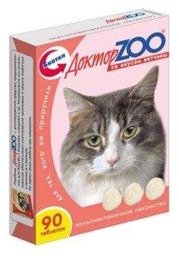 Доктор ZOO Витамины для кошек со вкусом ветчины