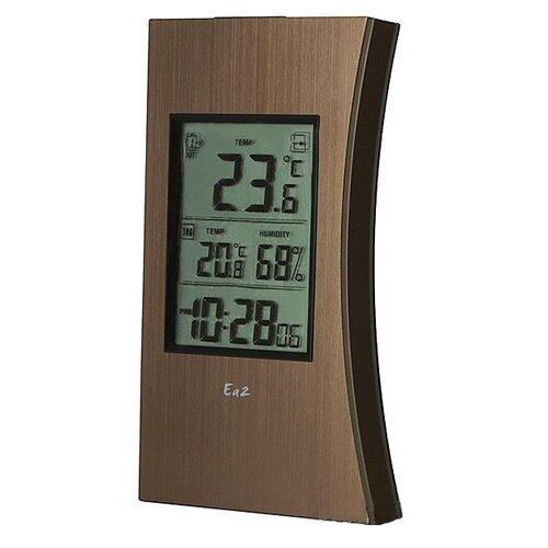 Метеостанция Ea2 ED602 коричневый ea2 ed602 edge термометр