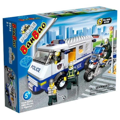 Конструктор BanBao Полиция 8336 Полицейская машина