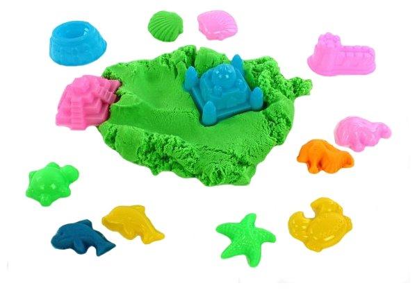 Кинетический песок Color Puppy с 6 формочками