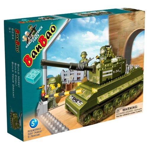 Купить Конструктор BanBao Военная техника 8234 Sherman, Конструкторы
