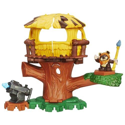 Купить Игровой набор Hasbro Звездные войны. Приключения на дереве B2032, Игровые наборы и фигурки