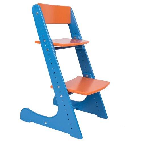 Купить Растущий стульчик Конек Горбунёк Универсальный синий/оранжевый, Стульчики для кормления
