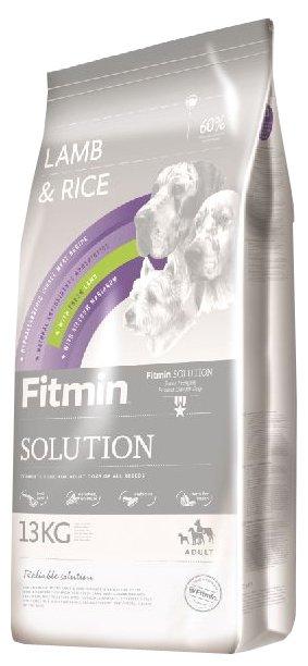 Корм для собак Fitmin Solution Lamb & Rice (13 кг)