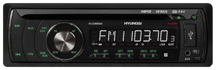 Автомагнитола Hyundai H-CDM8026