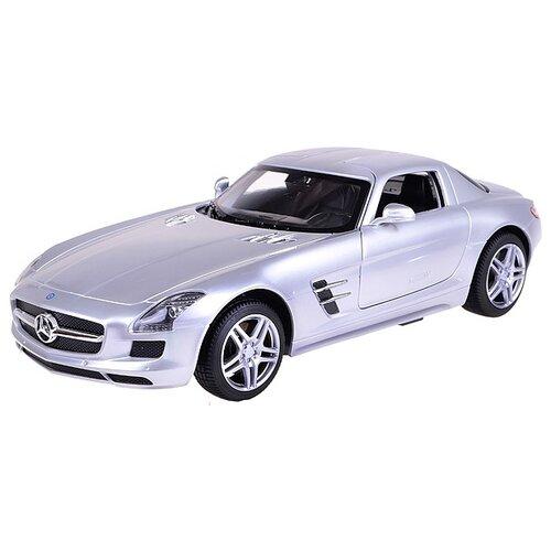Купить Легковой автомобиль Rastar Mercedes-Benz SLS AMG (47600) 1:14 серебристый, Радиоуправляемые игрушки