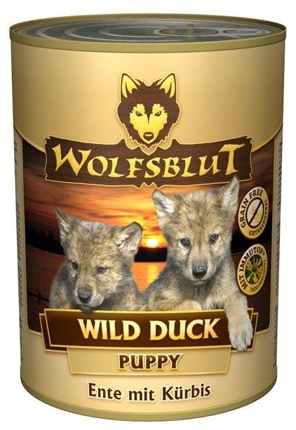 Корм для собак Wolfsblut Консервы Wild Duck Puppy