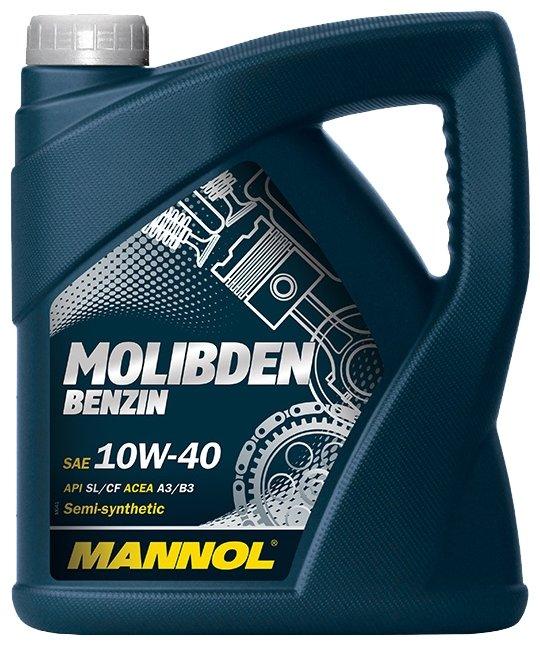 Масло моторное Mannol (SCT) Mos benzin 10w40 (4л) ПолуСинтетика SL/CF 1121
