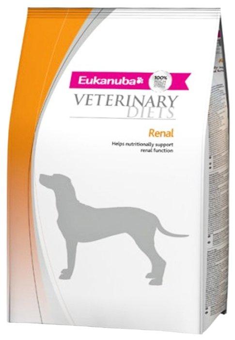 Корм для собак Eukanuba Veterinary Diets при заболеваниях почек 1 кг