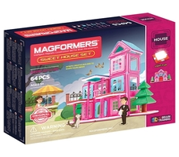 Магнитный конструктор Magformers House 705001 Дом, родной дом