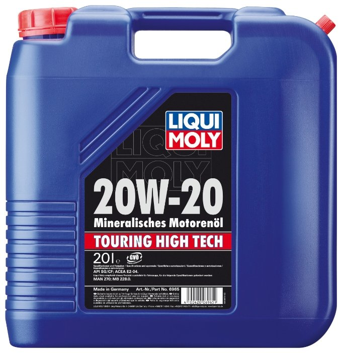 Моторное масло LIQUI MOLY Touring High Tech 20W-20 20 л