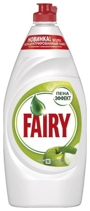 Fairy Средство для мытья посуды Зелёное яблоко