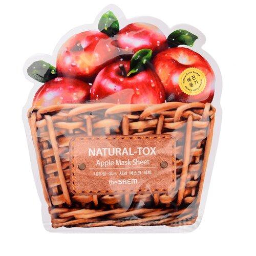 The Saem тканевая маска Natural-tox Apple, 20 гМаски<br>