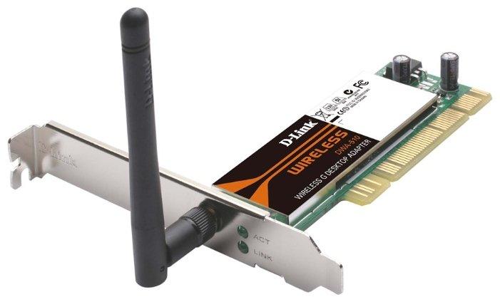 Wi-Fi адаптер D-link DWA-510