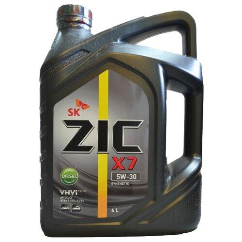 Моторное масло ZIC X7 DIESEL 5W-30 6 л