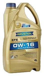 Моторное масло Ravenol Extra Fuel Economy EFE SAE 0W-16 4 л