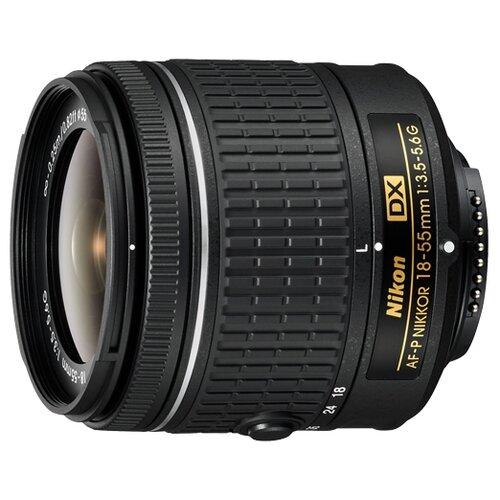 Фото - Объектив Nikon 18-55mm f/3.5-5.6G AF-P DX черный крышка nikon на объектив 55mm