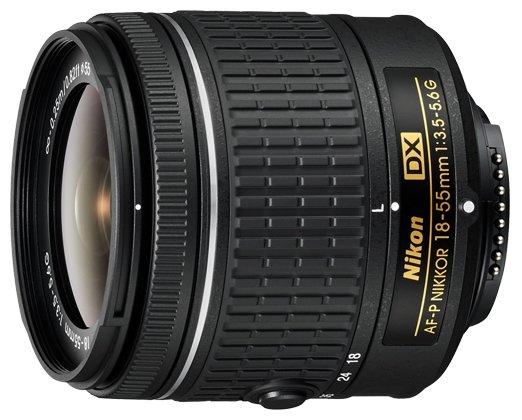Nikon Объектив Nikon 18-55mm f/3.5-5.6G AF-P DX