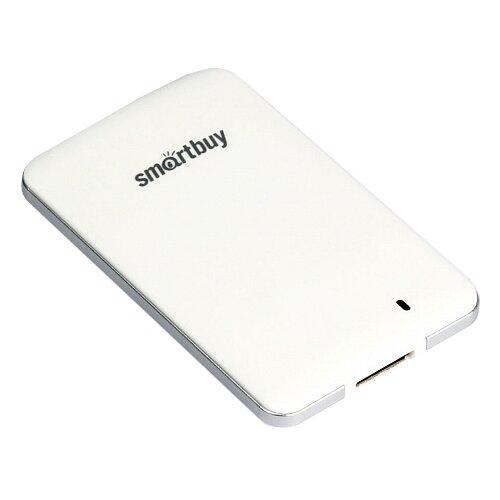 Фото - Внешний SSD SmartBuy S3 1.024 ТБ, белый внешний ssd smartbuy s3 128 гб черный