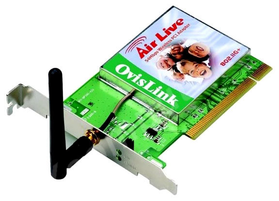 Wi-Fi адаптер AirLive WL-8000PCI