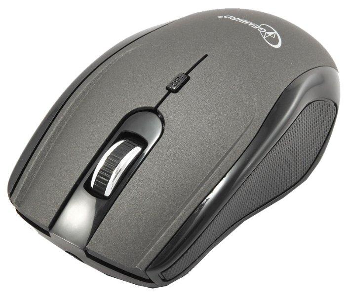 Мышь Gembird MUSW-213 Grey-Black USB