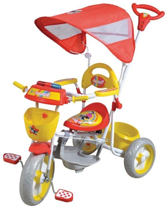 Трехколесный велосипед 1 TOY Т54040 Ну, погоди!