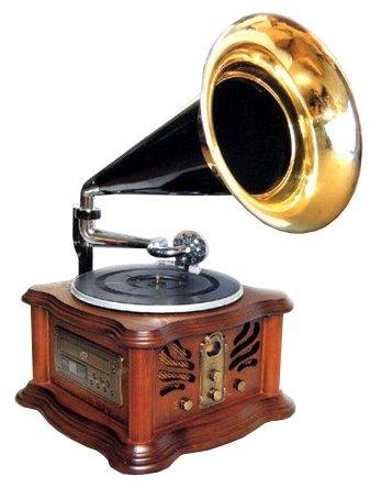 PlayBox Виниловый проигрыватель PlayBox PB-1011U Gramophone-I