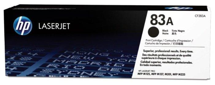 Картридж HP CF283A (83A) для HP LaserJet PRO M225, M225DW, M225DN, M225RDN, M201, M201DW, M201N, M125, M125RNW, M125RA, M125R, M125A, M127, M127FW, M127FN, M202, M202DW, M202N