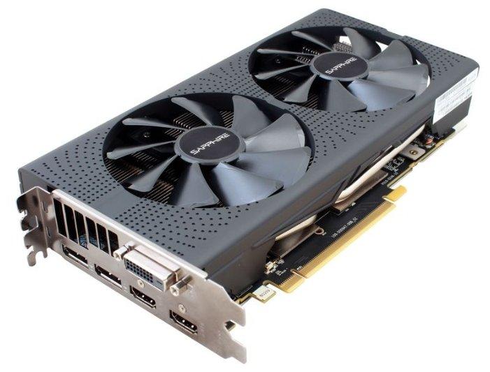 Видеокарта Sapphire Pulse Radeon RX 570 1284Mhz PCI-E 3.0 8192Mb 7000Mhz 256 bit DVI 2xHDMI HDCP