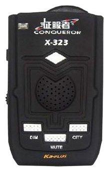 Радар-детектор Conqueror X323