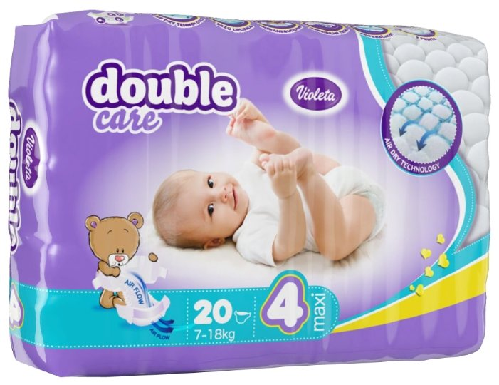 Violeta Double Care 4 (7-18 кг)