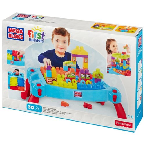 Конструктор Mega Bloks First Builders CNM42 Играй и учись