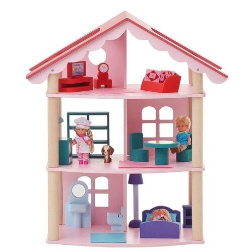 PAREMO кукольный домик Роза Хутор PD215, розовыйКукольные домики<br>