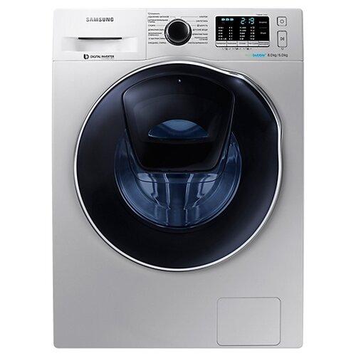 Фото - Стиральная машина с сушкой Samsung WD80K5410OS стиральная машина samsung ww80r42lhfw