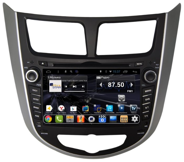 Автомагнитола Daystar DS-7011HD Hyundai Solaris 2013+ ANDROID