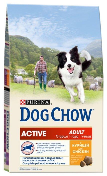 Корм для собак DOG CHOW Active курица 2.5 кг