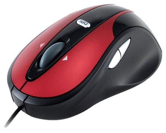 Мышь Modecom MC-610 Innovation G-Laser Mouse Black-Red USB