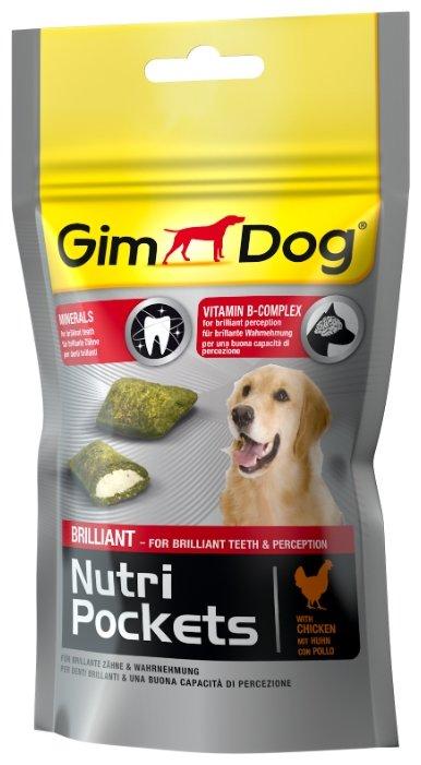 Лакомство для собак GimDog Nutri Pockets Brilliant