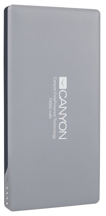 Внешний аккумулятор Canyon Power Bank 10000mAh White CNS-TPBP10W
