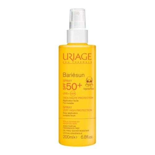 Uriage Bariesan солнцезащитный спрей для детей SPF 50 200 мл uriage солнцезащитный крем