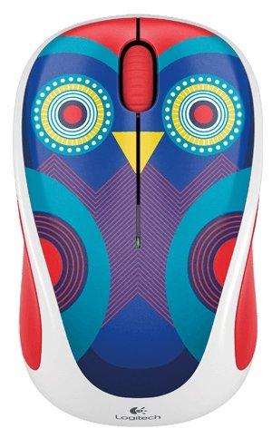 Мышь Logitech Wireless Mouse M238 Ophelia Owl White-Purple USB