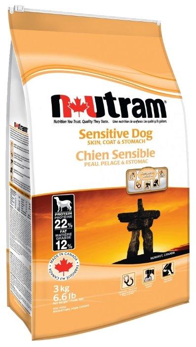 Корм для собак Nutram Sensitive Dog (3 кг)