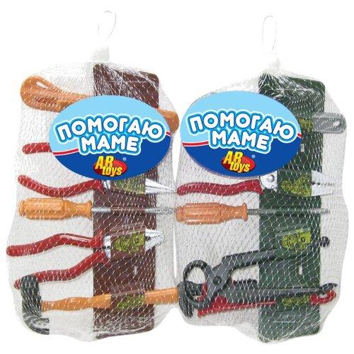 Купить ABtoys Помогаю Папе, 7 предметов PT-00073 (WK-A1889), Детские наборы инструментов