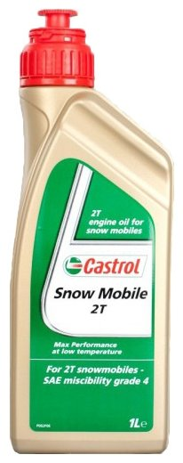 Моторное масло Castrol Snowmobile 2T 1 л