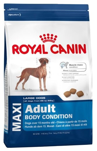 Корм для собак Royal Canin для здоровья кожи и шерсти, для здоровья костей и суставов 12 кг (для крупных пород)