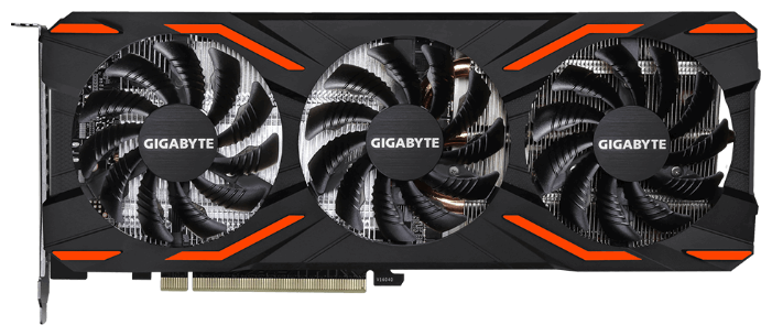 GIGABYTE Видеокарта GIGABYTE P104-100 1607Mhz PCI-E 1.1 4096Mb 10010Mhz 256 bit