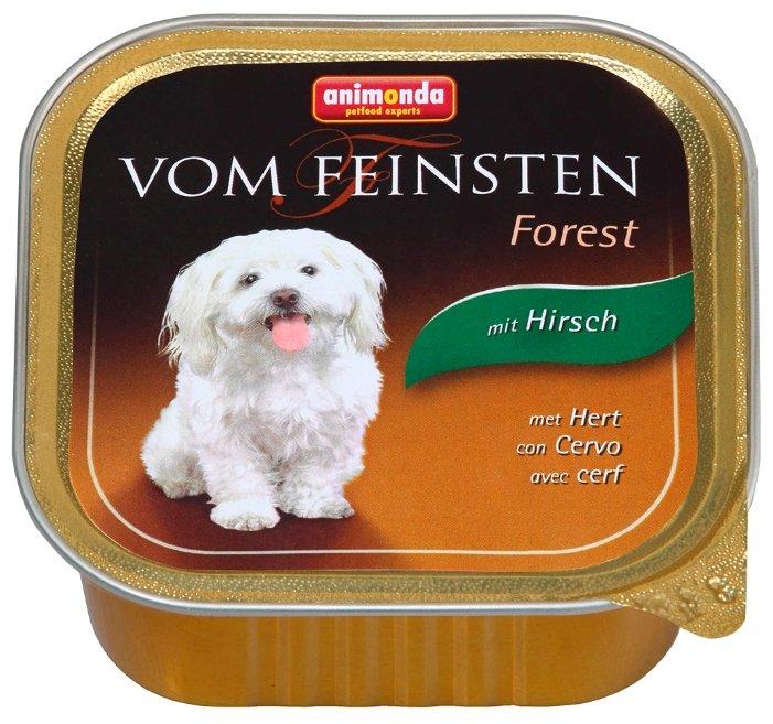 Корм для собак Animonda Vom Feinsten Forest оленина 150г
