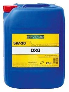 Моторное масло Ravenol DXG SAE 5W-30 20 л
