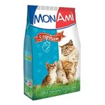 MonAmi Сухой корм для кошек Сердце (0.4 кг) 1 шт.